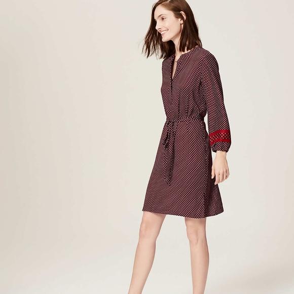 LOFT Dresses & Skirts - NWOT Ann Taylor LOFT Printed Shirtdress SP